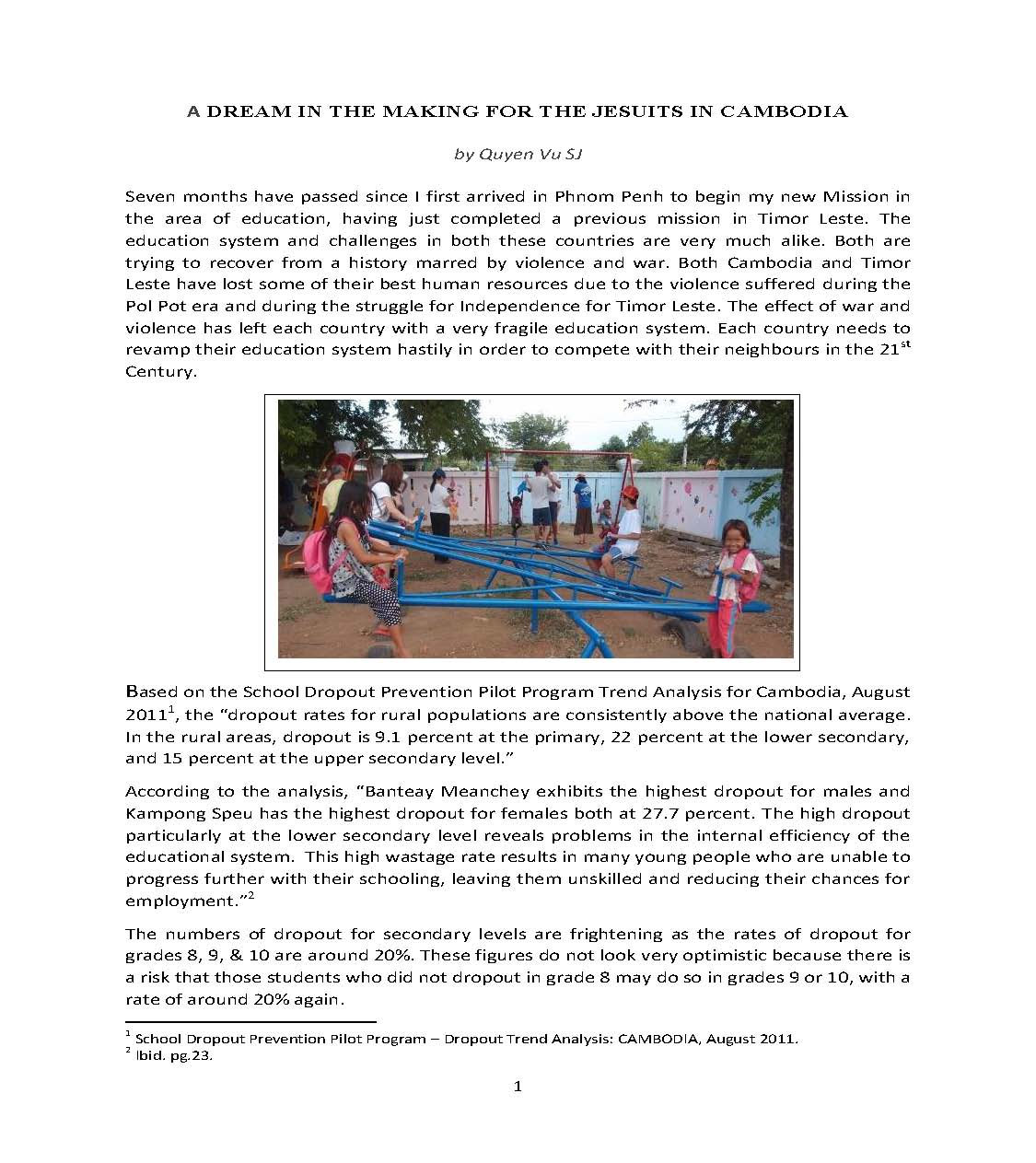 A Dream in the Making for the Jesuits in Cambodia by Quyen Vu SJ_Page_1
