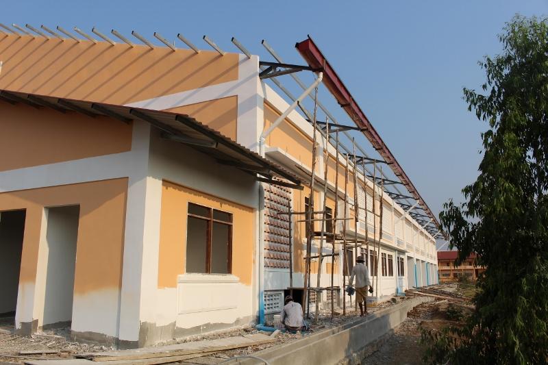 The Roof Goes On Xavier Jesuit School Cambodia